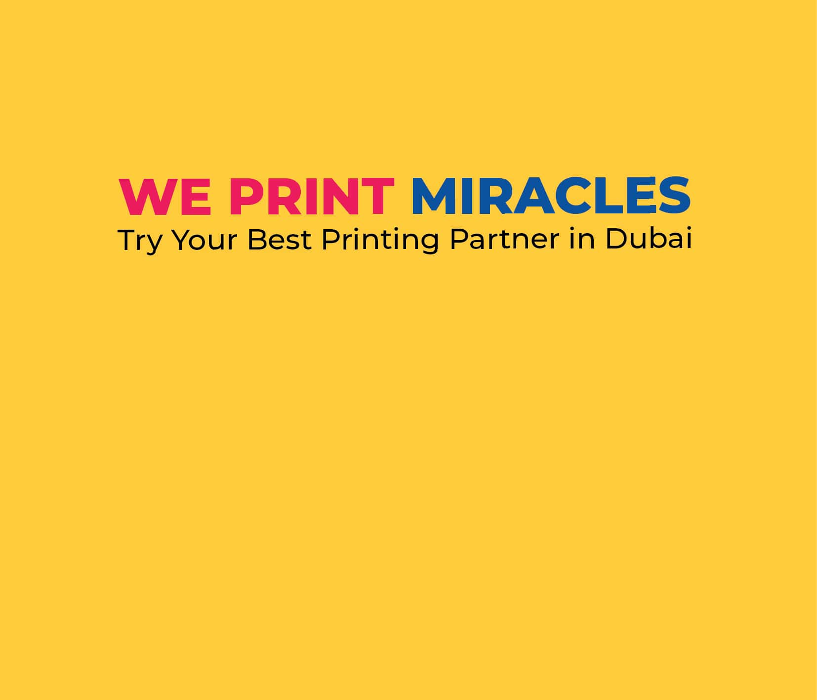 Printing Press Service in Dubai