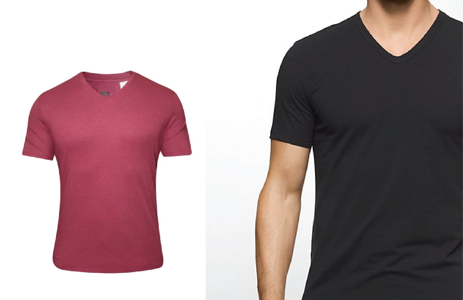 The V Neck T Shirt