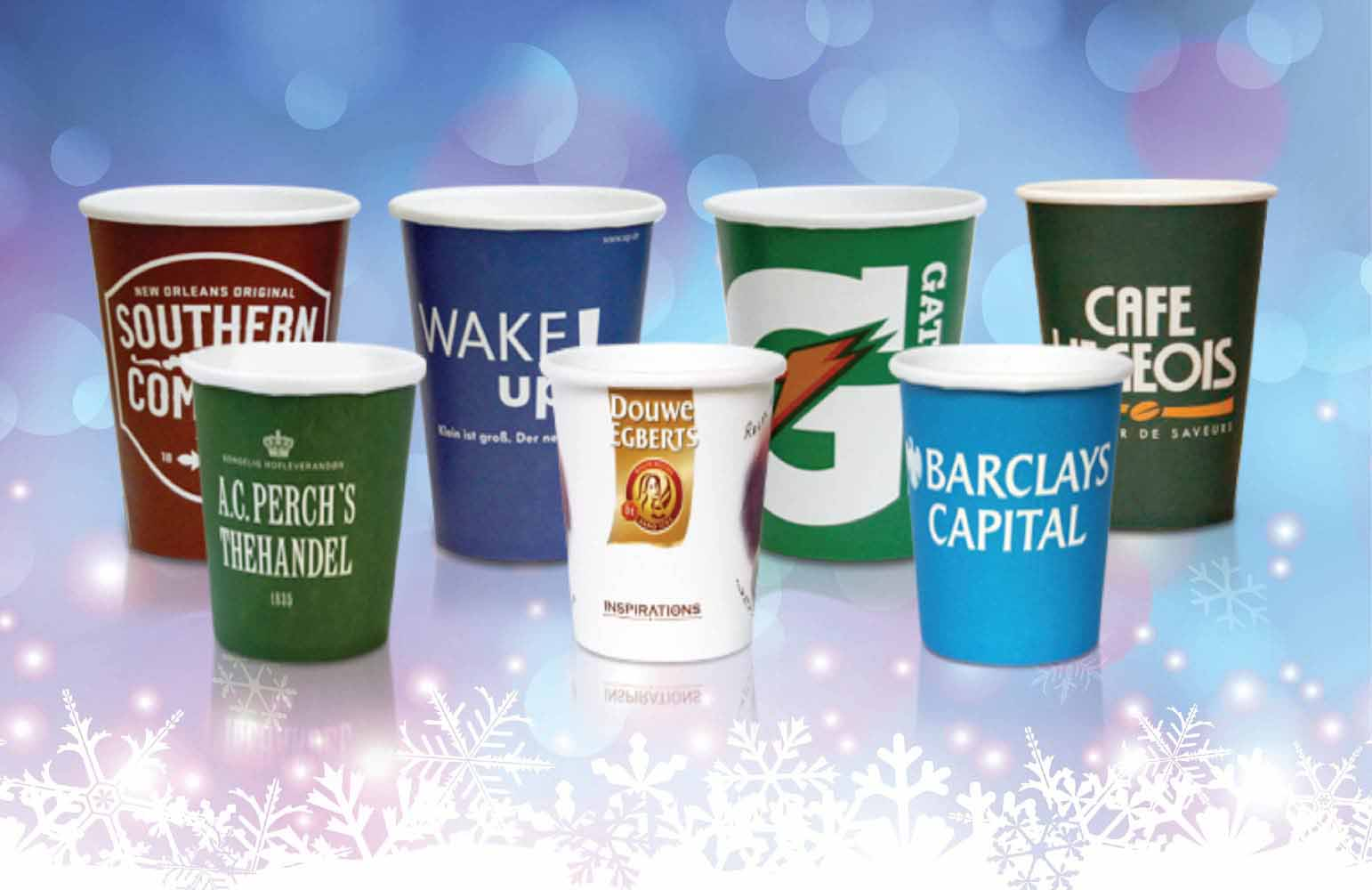 Paper cup printing